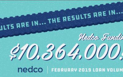 Nedco Funding $10,364,000!