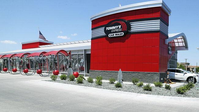 SBA Loans Help Tommy's Car Wash Clean Up Grand Island's Cars